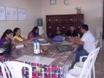 Reunião com os Técnicos e Professores